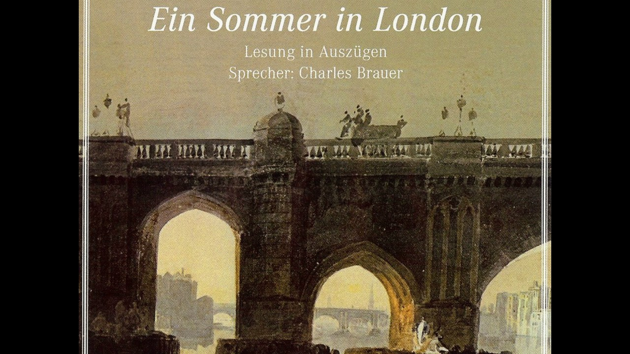 Theodor Fontane Ein Sommer In London