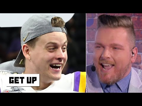 Pat McAfee loves Joe Burrow's swagger | Get Up