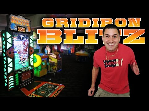 Gridiron Blitz JACKPOT! - Arcade Ticket Game