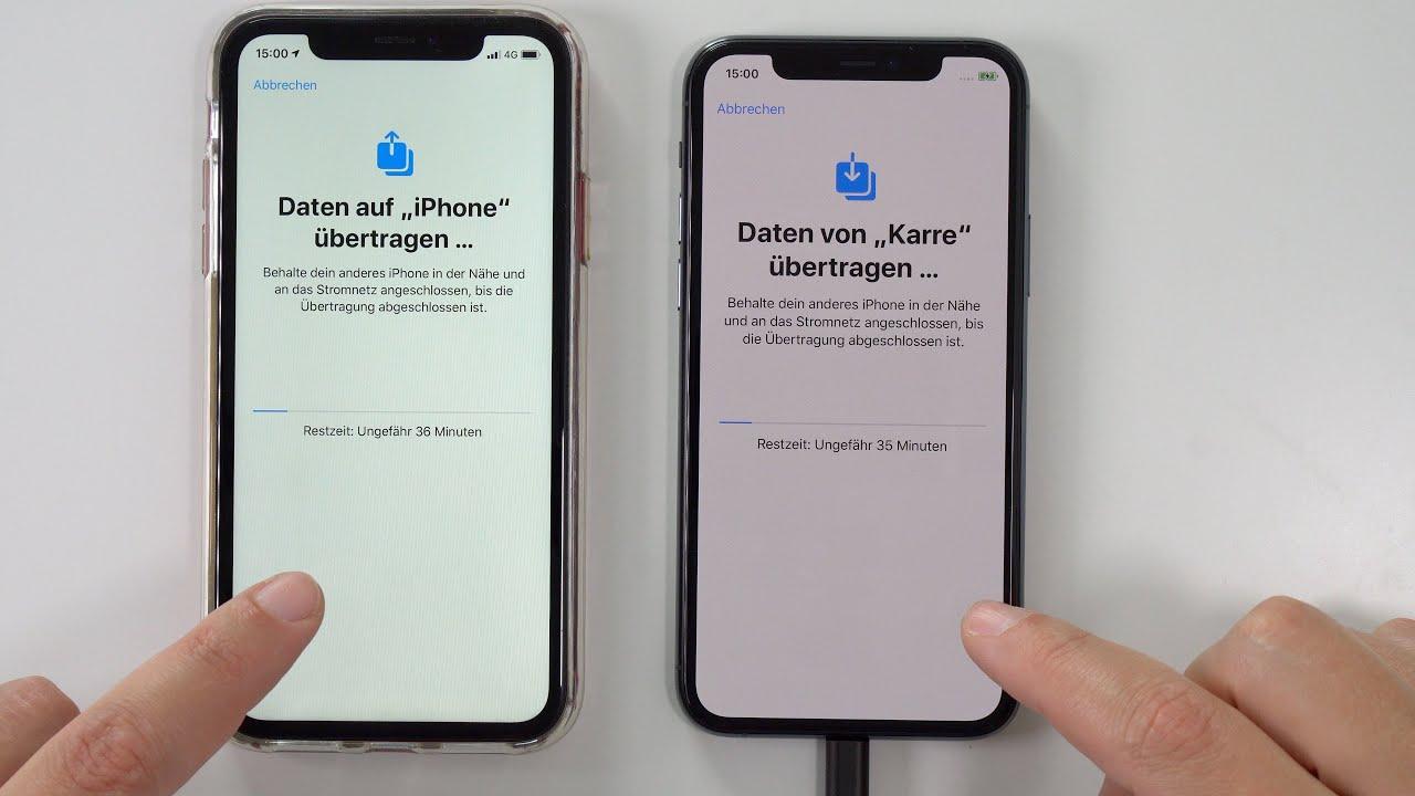 iPhone 9 Pro einrichten 🤔 und Datenübernahme vom alten iPhone