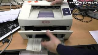 Принтер Xerox Phaser 3117. Как включить и достать картридж.(Как включить принтер, если он отключен или выключить, если включен. Для этого надо подключить кабель питани..., 2015-02-07T04:29:46.000Z)