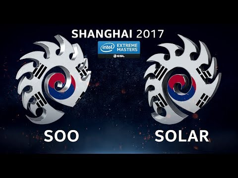 StarCraft II - soO vs. Solar [ZvZ] - Group C - IEM Shanghai 2017