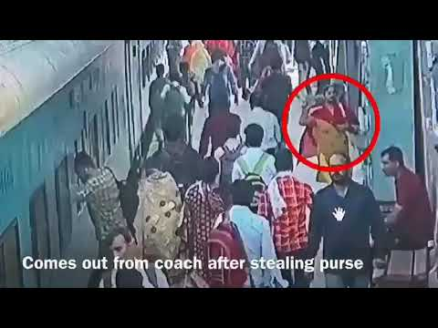 Good Work Done By CCTV STAFF In Indian Railways.