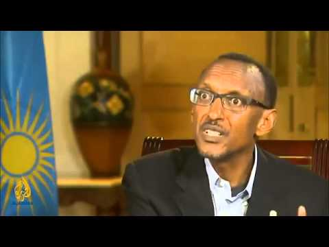 PRESIDENT PAUL KAGAME 'Rwanda has its own problems' TALK TO ALJAZEERA TV