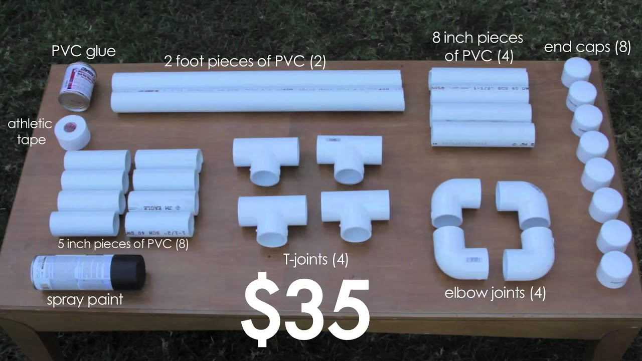 Easy pvc projects how to build parallettes under 35 youtube