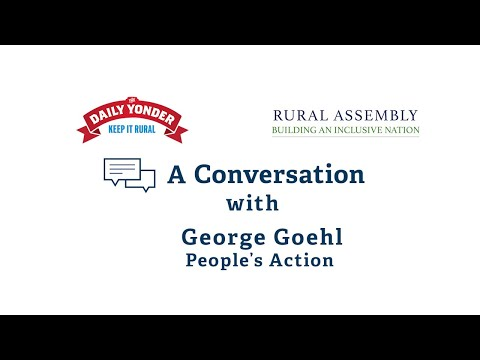 A conversation with George Goehl of People's Action