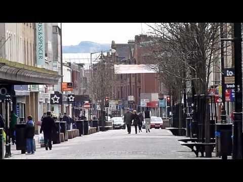 Kilmarnock Town Centre, Scotland