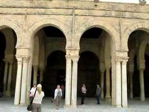 Courtyard of the Great Mosque - Kairouan