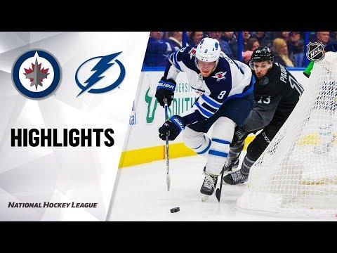 NHL Highlights | Jets @ Lightning 11/16/19