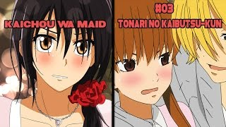 Top 5 Animes Similar to Kaichou wa Maid sama!