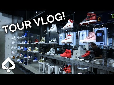 BEST AIR JORDAN STORE EVER! (Crazy restock too!) Tour Vlog!