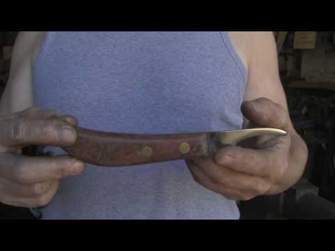 Forging A Farriers Knife Blade