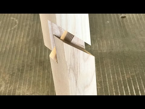 Holzverlängerung einfach an der Kreissäge