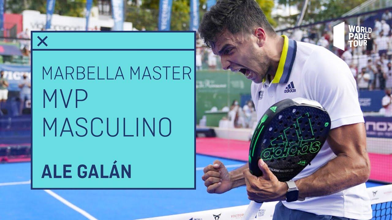 Ale Galán, MVP del Cervezas Victoria Marbella Master 2021