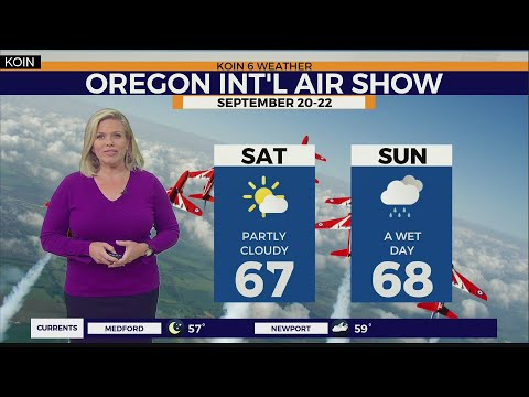 WEATHER FORECAST: Partly Cloudy Saturday But Rain Arrives Sunday, Chance T-storms