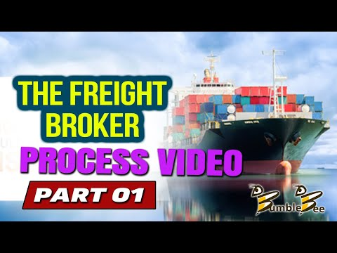 THE FREIGHT BROKER PROCESS VIDEO PART 1 Freight Broker Training www.BumbleBeeDispatch.com