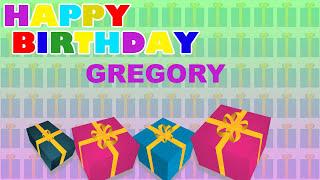 Gregory - Card Tarjeta_198 - Happy Birthday