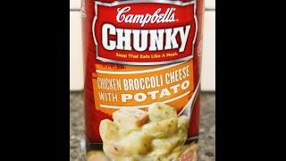 Campbell's Chunky Soup: Chicken Broccoli Cheese with Potato Review