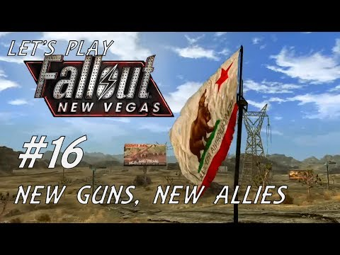 Let's Play Fallout New Vegas (Modded - Project Nevada) - #16 - New Guns, New Allies