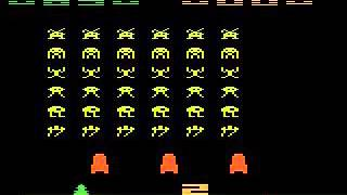 Deep Q Learning AI playing Space Invaders