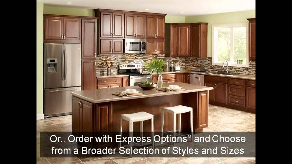 overview of hampton bay cabinets from the home depot - youtube