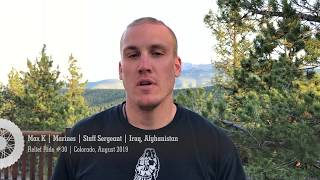 Max K | Marines | Staff Sergeant Retired | Iraq, Afghanistan