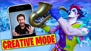 FORTNITE CREATIVE MODE IS BRINGING ME BACK...