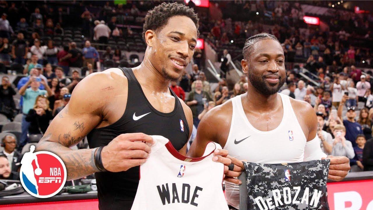 Dwyane Wade's clutch steal on DeMar DeRozan secures win   Heat vs. Spurs   NBA Highlights