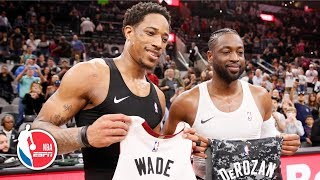 Dwyane Wade's clutch steal on DeMar DeRozan secures win | Heat vs. Spurs | NBA Highlights