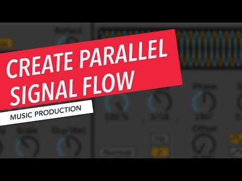 How to Create Parallel Signal Flow in Ableton Live Using Racks | Music Production | Loudon Sterns