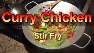 Curry Chicken Stir Fry