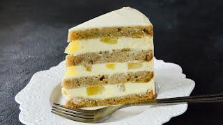 Торт КОЛИБРИ Банановый БИСКВИТ