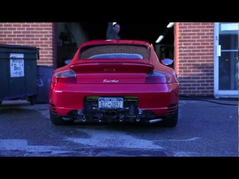 1288hp Porsche Sounds idle, rolling