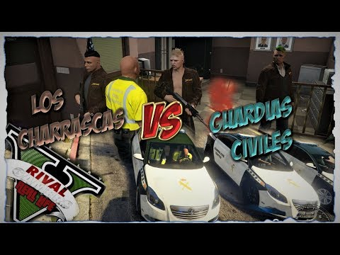 GTA V Real  Life Role  Play |EL POLIDURO ( CHARRASCAS VS POLIS)🔫