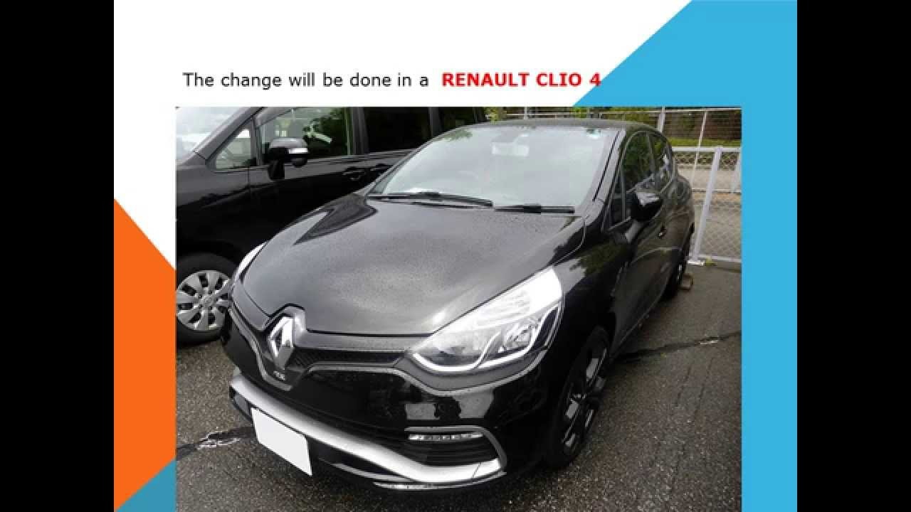 Renault Clio 4 How To Replace Pollen Filter Cabin Filter
