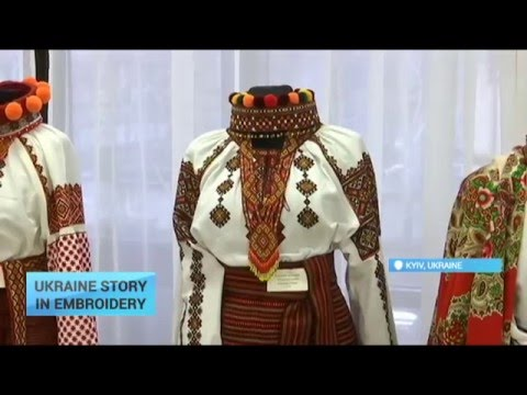 Ukraine Story in Embroidery: How traditional embroidery tells Ukraine's story