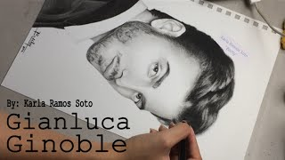 Speed Drawing of Il Volo- Part 2/3: Gianluca Ginoble