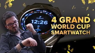 Enjoy the World Cup on your wrist for just 4 grand! (Techadence)