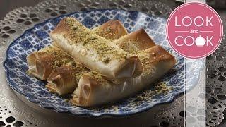 Znoud El Sit Recipe - Look and Cook step by step recipes | How to cook Znoud El Sit Recipe