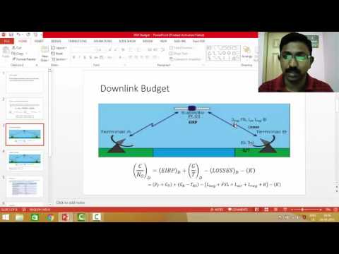 link budget calculation youtube