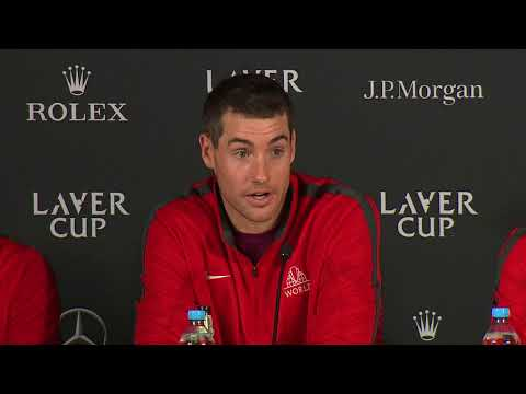 Team World Press Conference (Day 3)   Laver Cup 2017
