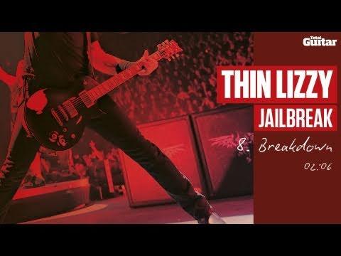Guitar Lesson: Thin Lizzy 'Jailbreak' -- Part Eight -- Breakdown (TG217)