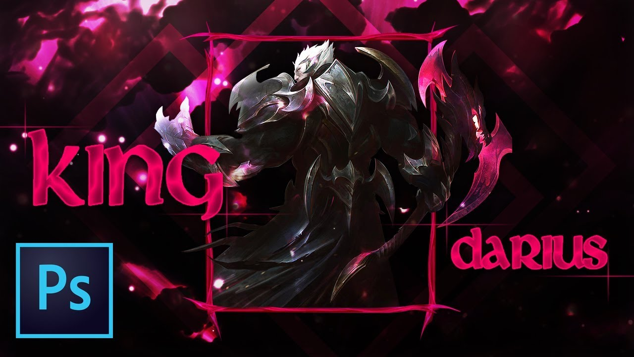 Edited Speed Art God King Darius Wallpaper Youtube Thumbnail