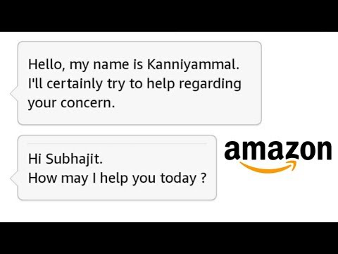 How To Chat With Amazon Customer Care