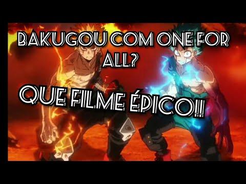BOKU NO HERO!!  HEROES RISING: RESUMO EM 5 MINUTOS(COM SPOILERS)
