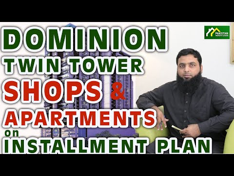 DOMINION TWIN TOWER SHOPS & APARTMENTS ON INSTALLMENT PLAN