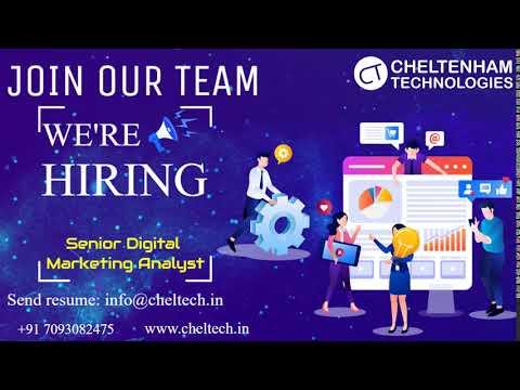 Senior Digital Marketing Analyst jobs