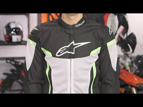 8858ae9cf Alpinestars T-GP Plus R v2 Air Jacket Review at RevZilla.com - YouTube
