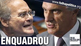 O 'enquadro' realizado por Ronaldo Caiado que Renan Calheiros jamais esquecerá