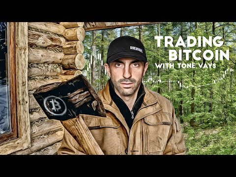 Trading Bitcoin - Holding $10k Yet Again (from The Woods W/ Bitcoin Motorist)